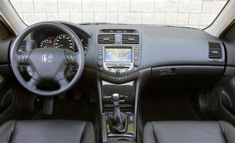 honda accord 2007 interior car and driver