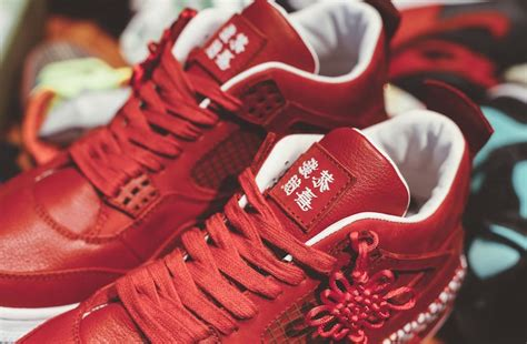 Air Jordan 4 Chinese New Year Custom  Sneaker Bar Detroit