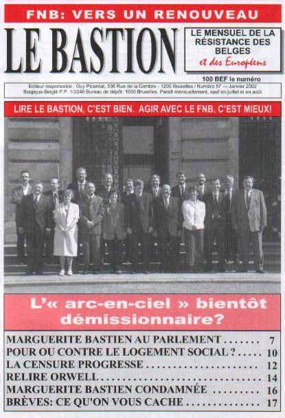 bastion nー57 janvier 2002