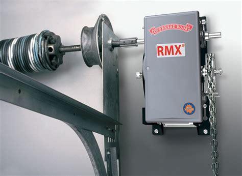 overhead garage door opener rmx medium duty operator overhead door company