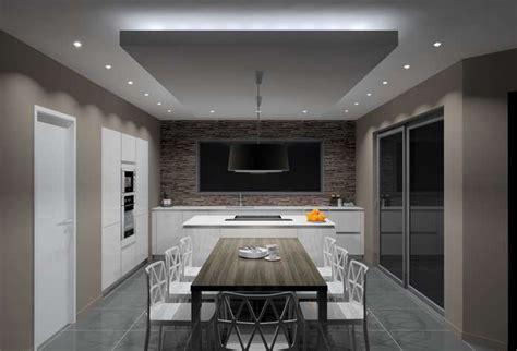 spots pour cuisine eclairage faux plafond cuisine luminaire cuisine spot