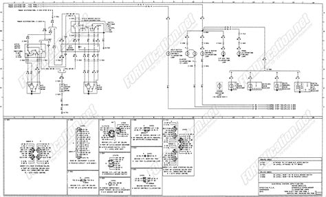 79 Ford F100 Light Wiring Diagram by 1973 1979 Ford Truck Wiring Diagrams Schematics