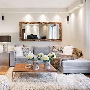 salon douillet aux matieres brutes salon inspirations With couleur de maison tendance exterieur 1 9 clatures de bord de mer