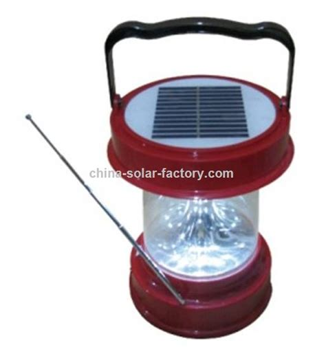 promotional solar portable light with radio suppliers