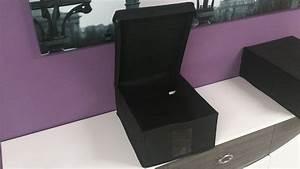 Aufbewahrungsbox Stoff Mit Deckel : ordnungsbox aufbewahrungsbox m in schwarz mit deckel ~ Orissabook.com Haus und Dekorationen