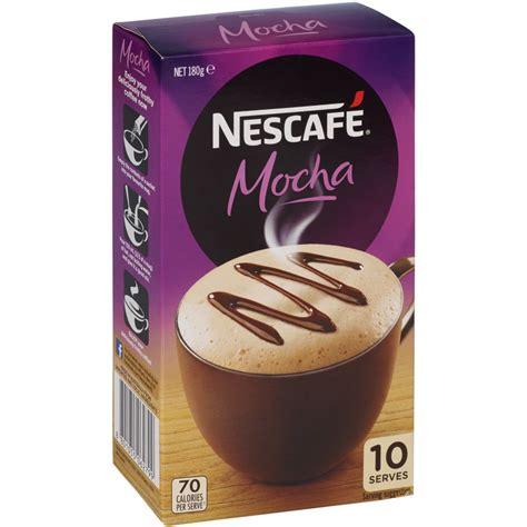 Add a teaspoon of nescafé gold instant coffee to your cup. Nescafe Cafe Menu Coffee Mix Mocha 180g Reviews - Black Box
