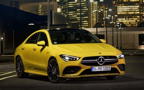 Automotive intelligence can be this beautiful. 2020 Mercedes-AMG CLA 35 Revealed Officially - GTspirit
