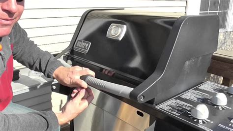 how to light a grill how to install a weber grill out handle light 7516