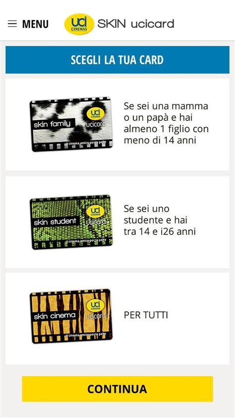 Ingressi Superskin by Uci Cinemas Pubblica L App Skin Ucicard Anche Sul Windows