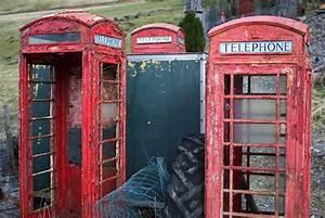 Britain U0026 39 S Iconic Red Phonebox Turns 75  U2022 The Register