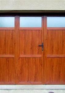 porte de garage battante pvc sur mesure devis gratuit With porte de garage enroulable jumelé avec prix d une porte d entrée blindée