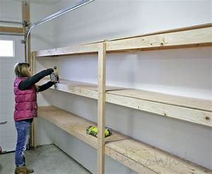 Diy Overhead Garage Shelves - DIY Wiki
