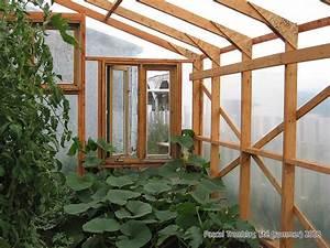 Film Plastique Pour Serre : serre de jardin en bois polycarbonate ou poly thyl ne ~ Premium-room.com Idées de Décoration