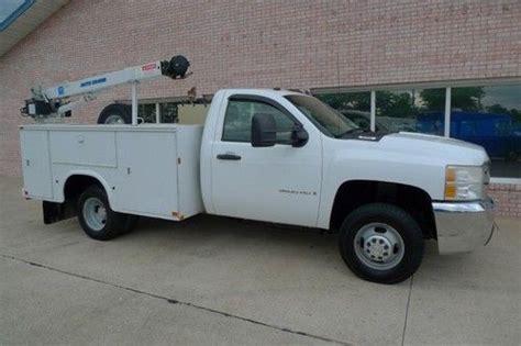Purchase Used 2007 Chevrolet Silverado 3500 Service Truck