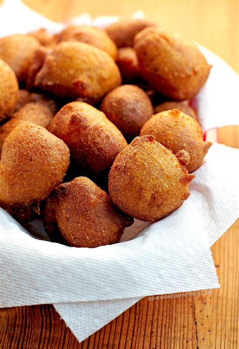 hush puppies recipe beer batter hush puppies recipe she wears many hats