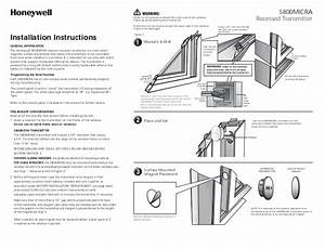 Installation Manual For Honeywell Thermostat 6000