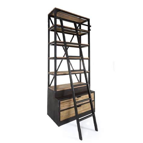 etagere industrielle bois metal etag 232 re vintage industrielle m 233 tal vieux bois avec