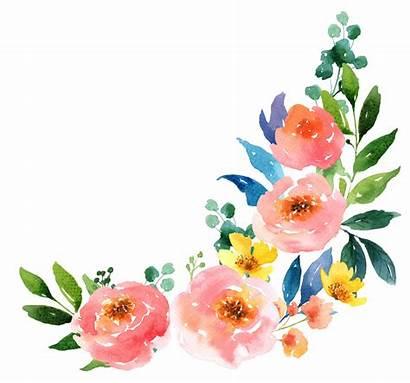Watercolor Flowers Watercolour Painting Getdrawings