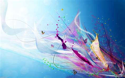 Beautiful Illustrative Wallpapers by Wallpaper Wiki Abstract Beautiful Wallpapers Pic