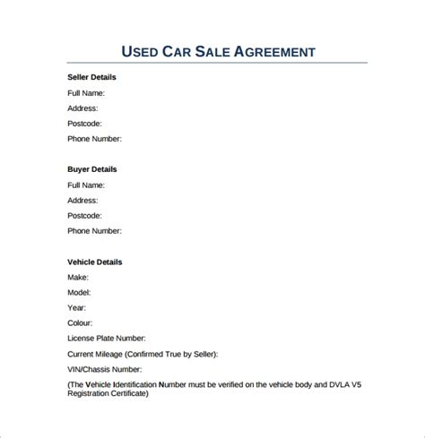 sample downloadable sales agreement templates sample