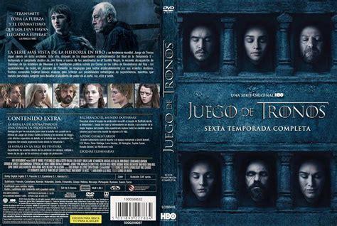 Juego De Tronos Temporada 6 Dvd Full Menu