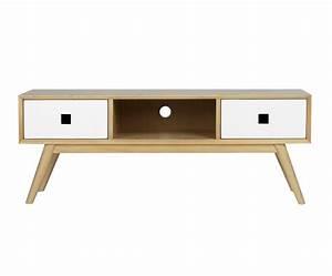 Meuble Tele En Bois : meuble tv moderne en bois nordic 6101 ~ Melissatoandfro.com Idées de Décoration