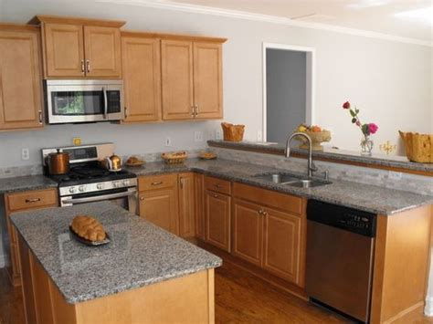 maple cabinets with granite countertops islands gray and granite counters on