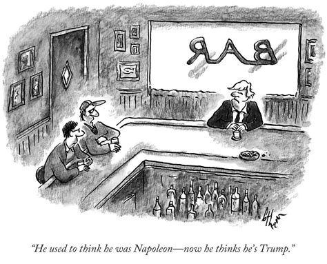 The New Yorker Cartoon Editor Goes Full Donald With Trump