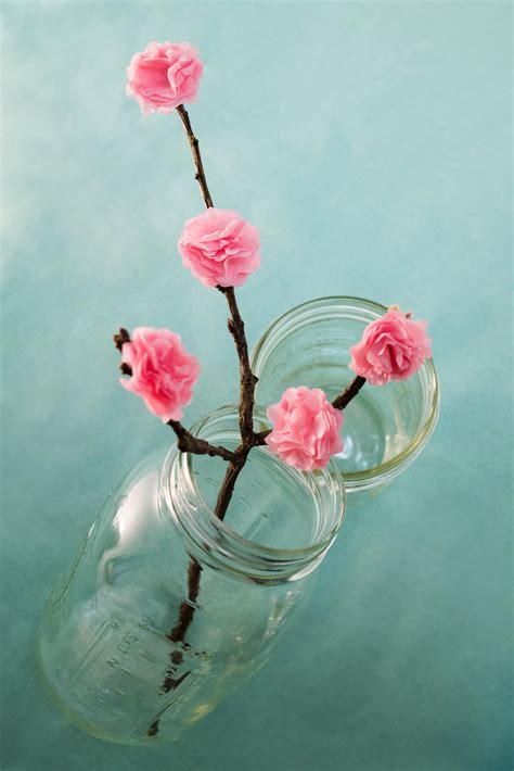 cherry blossom tissue paper flower favecraftscom