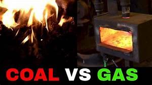 Wärmepumpe Vs Gas : coal forge vs gas forge different types of blacksmith ~ Lizthompson.info Haus und Dekorationen