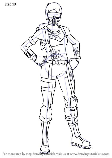 learn   draw mogul master  fortnite fortnite step  step drawing tutorials