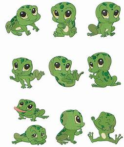 Cute Frog Drawings | Baby Frogs by Carmella's Korner CKC ...