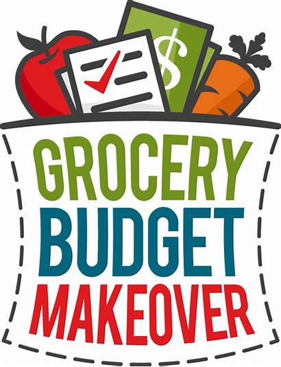 Budget Grocery Makeover Clipart Money Shopping Week