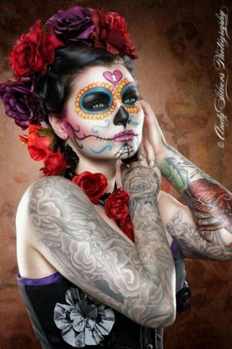 halloween  calaveras makeup sugar skull ideas  women family holidaynetguide