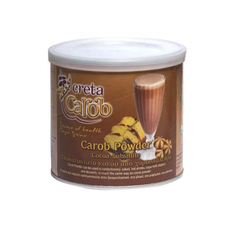 chocolate substitute bio carob powder cocoa substitute greecefinefoods greece fine foods greek specialties