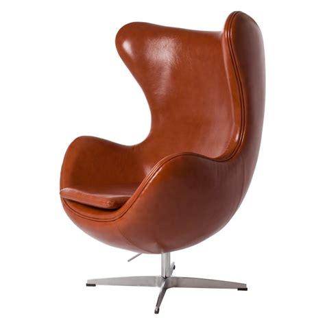 Breuer Chair Leather Jacobsen Lounge Stoel Egg Chair Leder Design Lounge Stoel