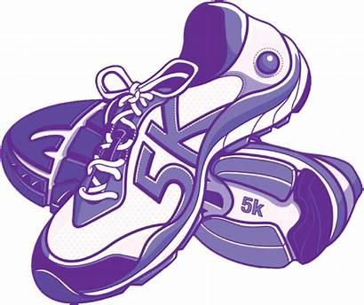 5k Run Clipart Running Shoe Race 10k