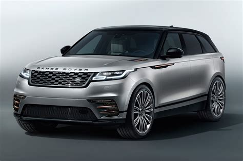 2018 Land Rover Range Rover Velar Front Three Quarters