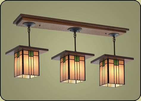 craftsman style light fixture 507 mission studio