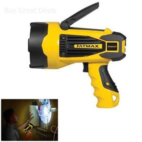 stanley fatmax flashlight 10 watt lithium ion