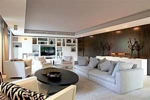 Deco Design Salon : un salon contemporain ~ Farleysfitness.com Idées de Décoration