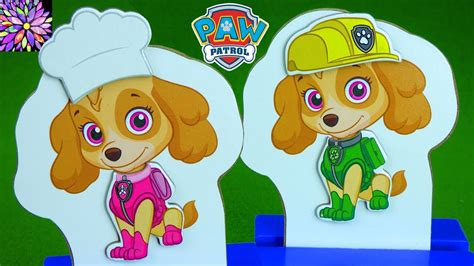Paw Patrol Mix And Match Dress Up With Skye And Chase Toys