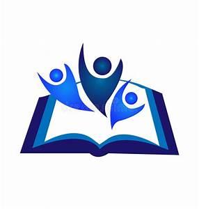 Teamwork book logo stock vector. Illustration of hands ...
