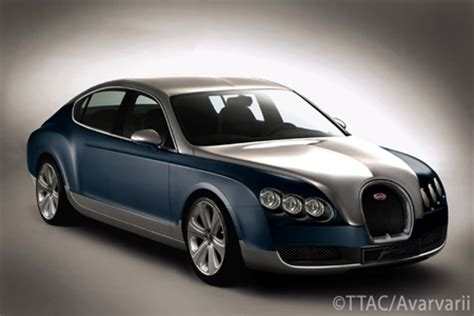 Bugatti Sedan by Ttac Photochop New Bugatti Sedan