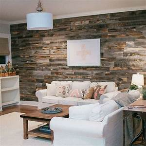 Can you create a reclaimed wood accent wall in under an hour?