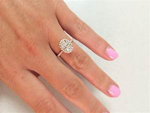 show me your oval halo engagement rings weddingbee With mismatched wedding bands and engagement rings