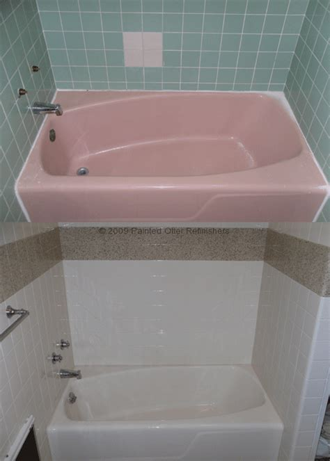 Before & After   Bathtub Refinishing   Tile Reglazing