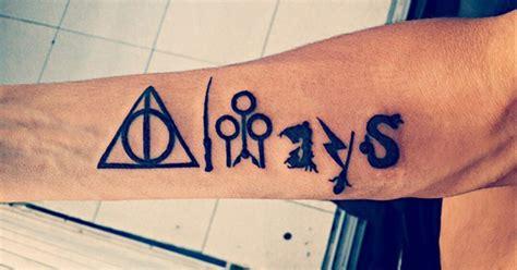 harry potter quote tattoos  hogwarts fan
