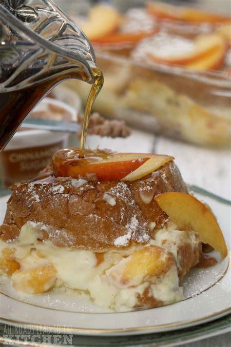 Peaches Cream Stuffed French Toast Recipes