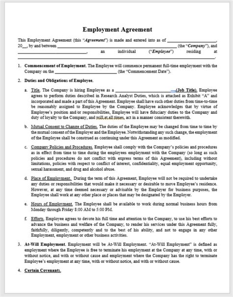 Hourly Employment Agreement   Business Lawyer Tampa   FL Patel Law